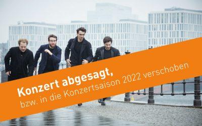 Konzert  am 16. Januar 2021