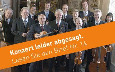 Konzert vom 24. Mai